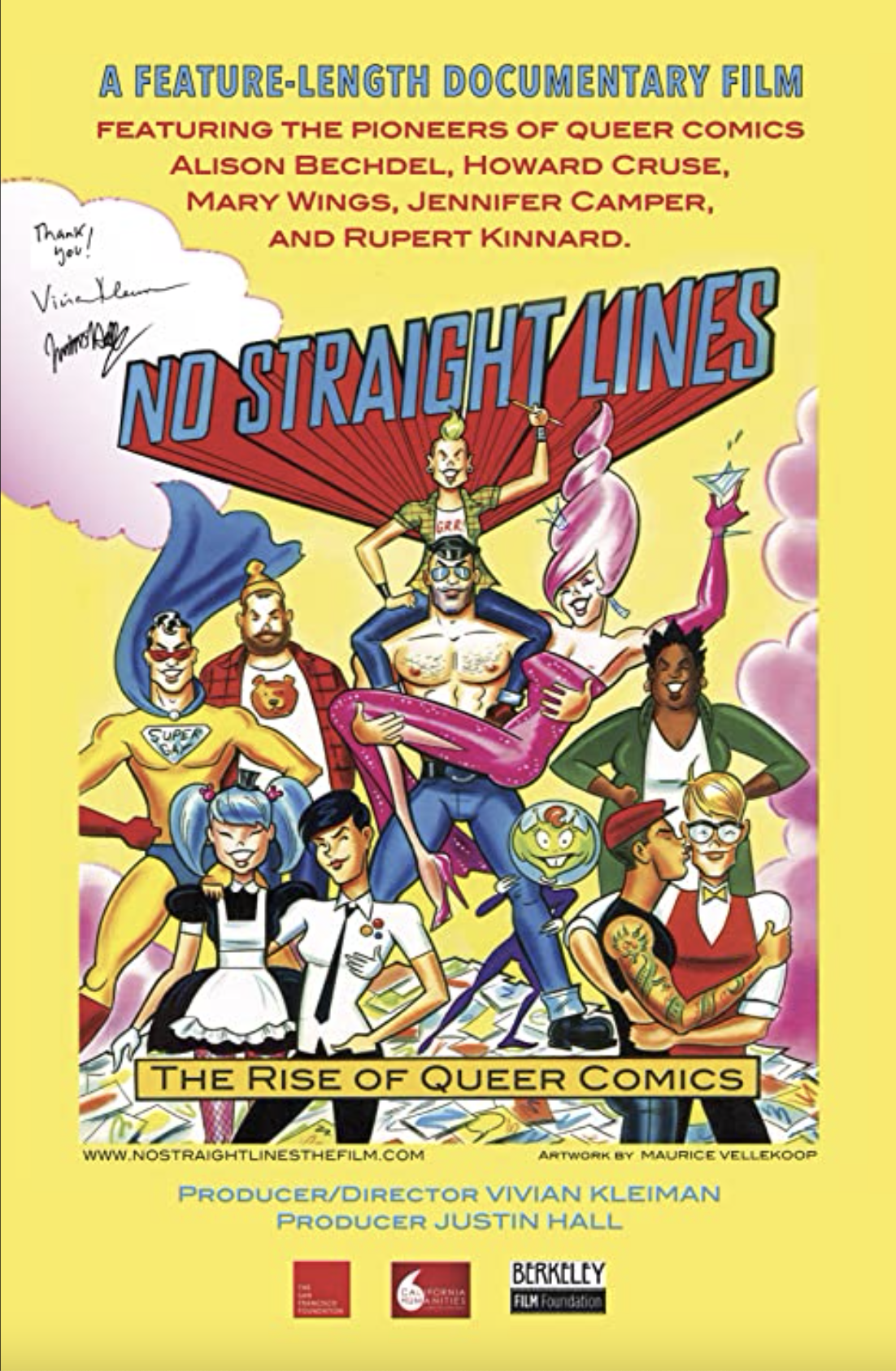 No Straight Lines Poster